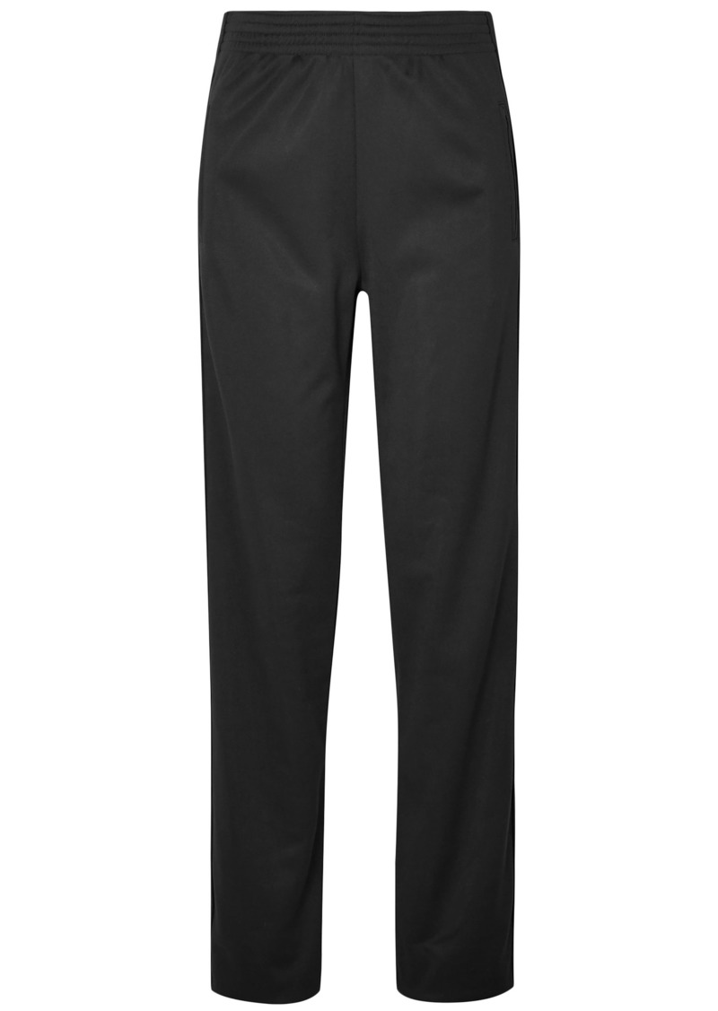 Givenchy Woman Satin-jersey Track Pants Black