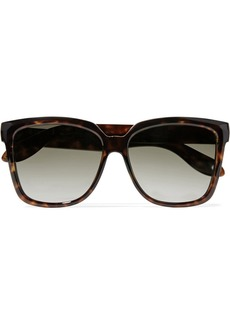 Givenchy Woman Square-frame Tortoiseshell Acetate Sunglasses Brown