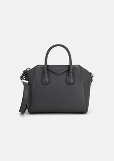 Givenchy Women's Antigona Small Leather Duffel Bag - Gray