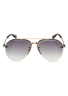 Givenchy Women's Brow Bar Aviator Sunglasses, 62mm