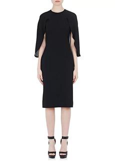 Givenchy Women's Capelet Sheath Dress
