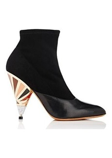 Givenchy Women's Cone-Heel Ankle Boots