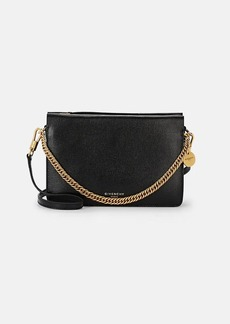 Givenchy Women's Cross3 Leather & Suede Crossbody Bag - Black