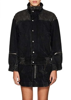 Givenchy Women's Denim Oversized Jacket