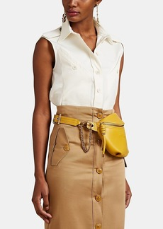 Givenchy Women's Dobby-Weave Blouse