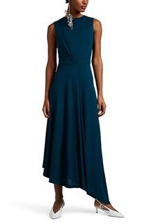 Givenchy Women's Draped Crepe Asymmetric Dress