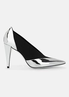 Givenchy Women's Elasticized-Detail Specchio Leather Pumps