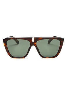 Givenchy Women's Flat Top Square Sunglasses, 58mm