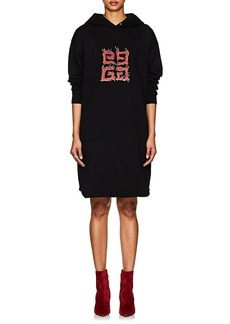 """Givenchy Women's """"G"""" Logo Cotton Terry Hoodie-Dress"""