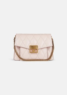 Givenchy Women's GV3 Small Leather Shoulder Bag - Light Pink