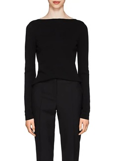 Givenchy Women's Lace-Back Knit Top