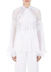 Givenchy givenchy womens lace inset silk chiffon blouse abv6ad8bf11 a