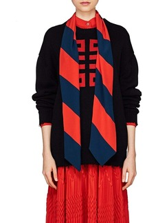 Givenchy Women's Logo Intarsia-Knit Cotton Sweater