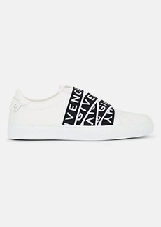 Givenchy Women's Logo-Strap Leather Sneakers