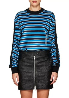 Givenchy Women's Logo Striped Cotton T-Shirt