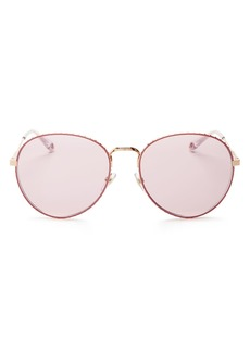 Givenchy Women's Mirrored Round Sunglasses, 60mm