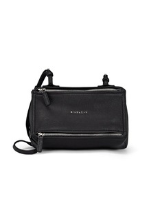 Givenchy Women's Pandora Mini Leather Messenger Bag - Black