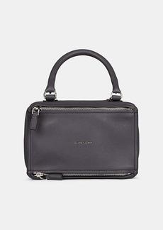 Givenchy Women's Pandora Small Leather Messenger Bag - Gray