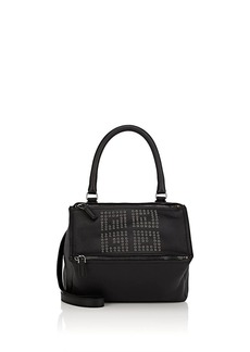 Givenchy Women's Pandora Small Leather Messenger Bag - Black