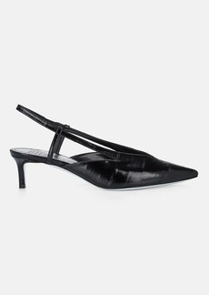 Givenchy Women's Patent Eel-Skin Slingback Pumps