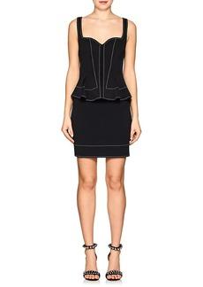 Givenchy Women's Peplum-Detailed Neoprene Minidress