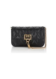 Givenchy Women's Pocket Mini Leather Crossbody Bag - Black