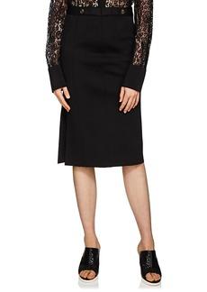 Givenchy Women's Rib-Knit Long Skirt