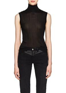 Givenchy Women's Rib-Knit Sleeveless Top