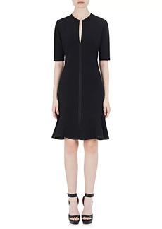 Givenchy Women's Tech-Jersey Peplum-Hem Dress
