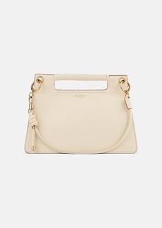 Givenchy Women's Whip Medium Leather Shoulder Bag - Natural