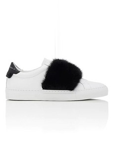 Givenchy Women's Women's Urban Street Leather & Fur Sneakers
