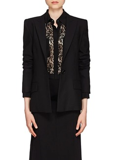 Givenchy Women's Wool One-Button Blazer