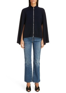 Givenchy Wool & Cashmere Sweater Cape