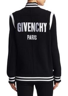 Givenchy Wool Bomber Jacket