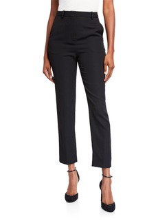 Givenchy Wool Slim-Leg Cropped Trousers