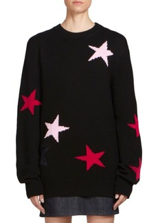 Givenchy Wool Star-Print Sweater