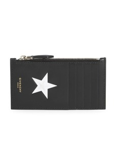 Givenchy Zip Card Wallet