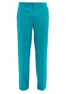 Givenchy Zip-pocket wool slim-leg trousers