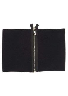 Givenchy Zipped wool-blend jersey cummerbund