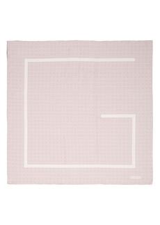Givenchy Vintage 4G Logo Foulard Silk Scarf