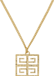 Givenchy Gold 4G Long Pendant Nekclace