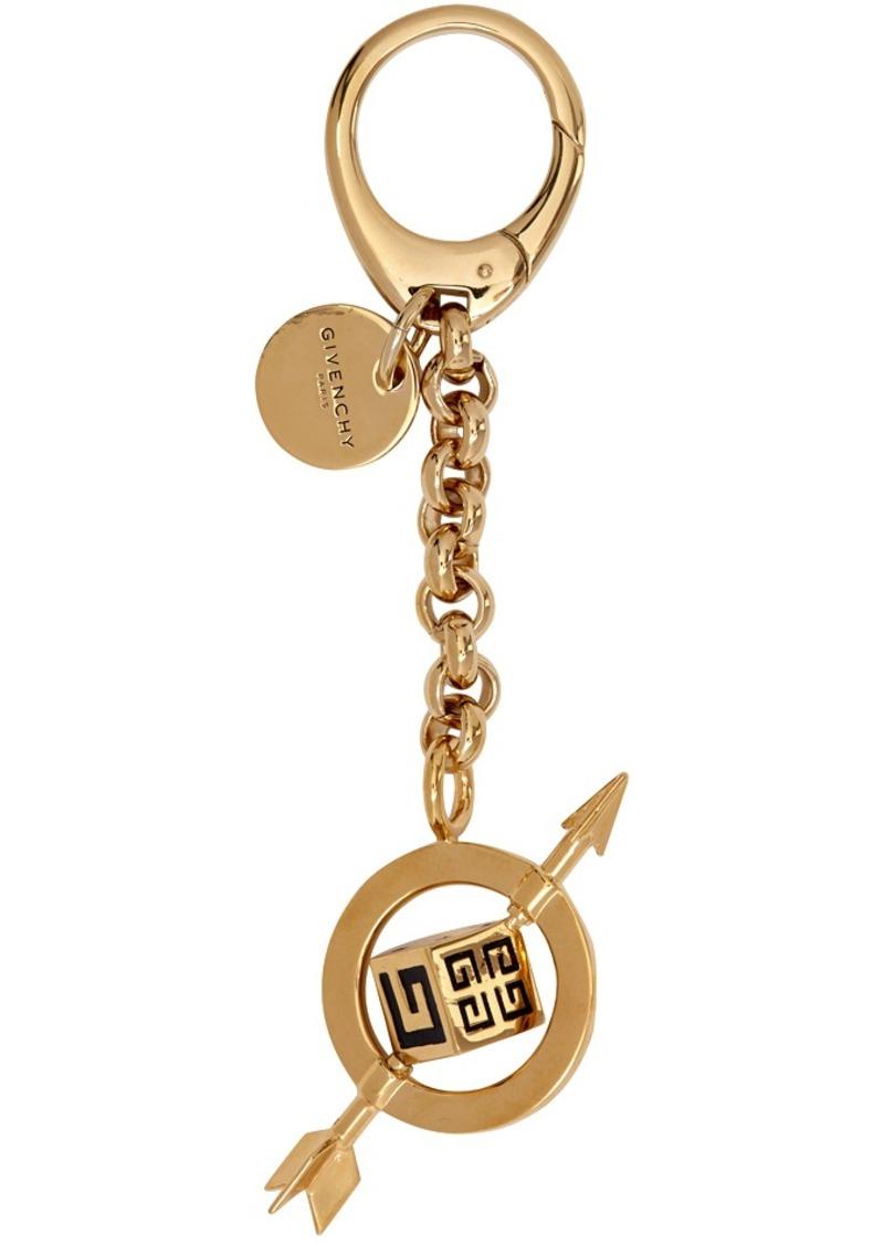 Givenchy Gold G & Arrow Charm