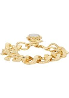 Givenchy Gold Oversized Chain Bracelet