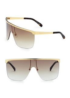 Givenchy Gold Shield Sunglasses