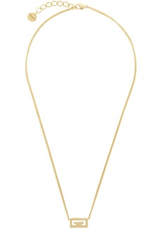 Givenchy Gold Small Pendant Necklace