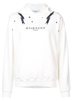 Givenchy graphic print star hoodie