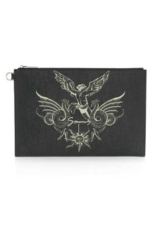 Givenchy graphic printed pouch