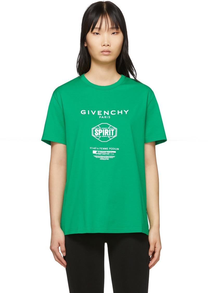 Givenchy Green Spirit T-Shirt