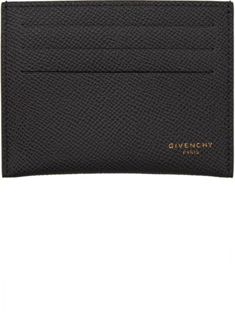Givenchy Grey 3CC Card Holder