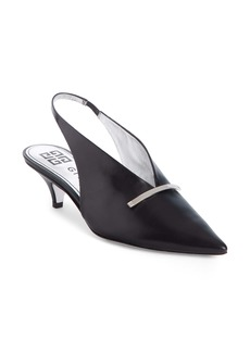 Givenchy Logo Bar Slingback Pump (Women)